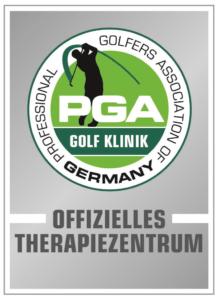 Sigel von PGA Golf Klinik